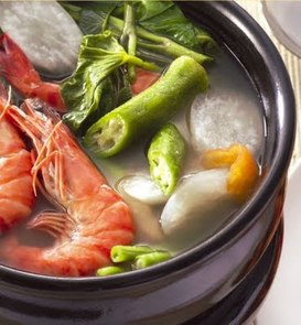 Filipino Food Sinigang Na Hipon